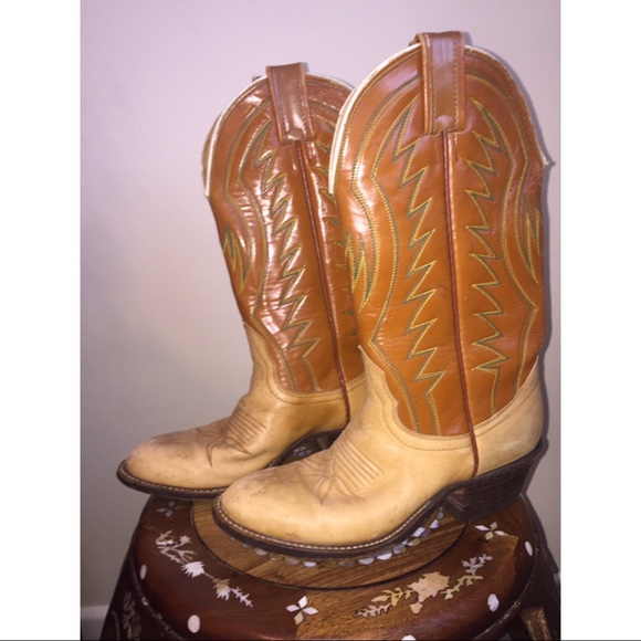 Shoes - Vintage Cowboy Boots from Texas
